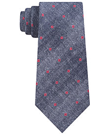 Calvin Klein Men's Red Hot Slim Neat Tie