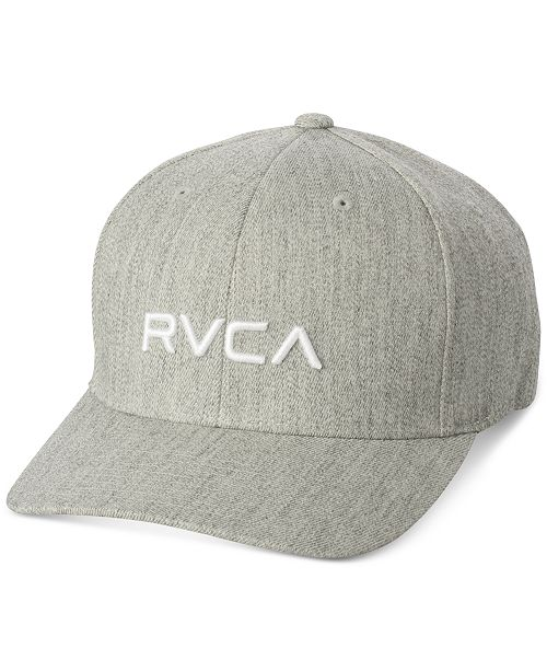 best website 50f38 8eb01 ... germany rvca mens flex fit hat hats gloves scarves men macys 815aa abd08