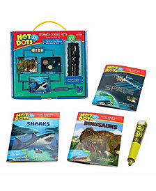 Educational Insights Hot Dots Jr Ultimate Science Facts Interactive Book Set With Pen