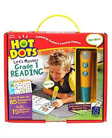 Educational Insights Hot Dots Jr Let's Master Grade 1 Reading With Talking Pen