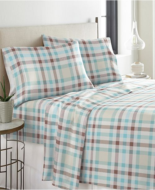 Pointehaven Heavy Weight Cotton Flannel Sheet Set Full Reviews Sheets Pillowcases Bed Bath Macy S