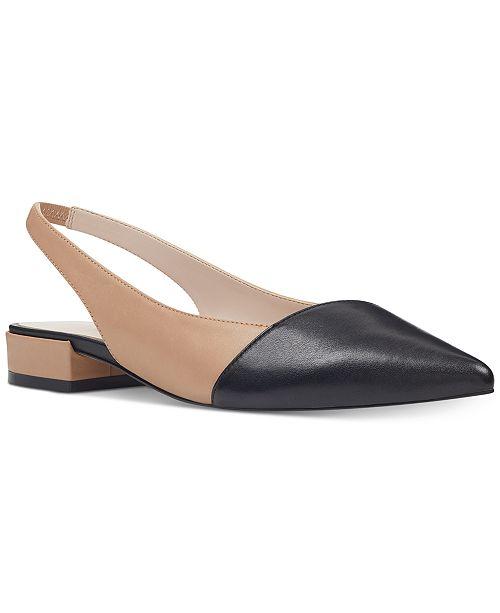 b8c988f714be Nine West Forlove Slingback Flats   Reviews - Flats - Shoes - Macy s