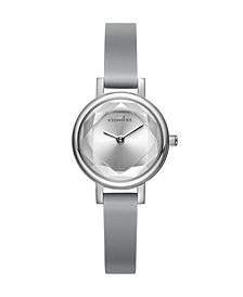 RumbaTime Venice Gem Silicone Women's Watch Pewter