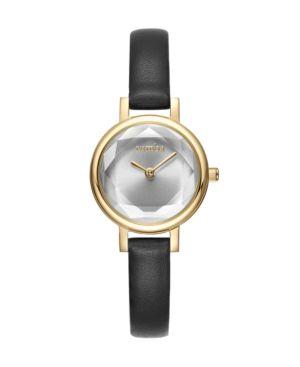 RUMBATIME Rumbatime Venice Black Leather Women'S Watch Gold