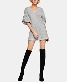BCBGeneration Flutter-Sleeve Sweater Dress