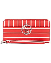 85f0518785 GUESS Kamryn Large Zip-Around Wallet