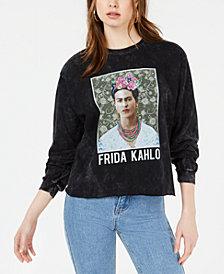 True Vintage Cotton Frida Kahlo Graphic Top