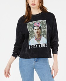 True Vintage Cotton Frida Kahlo Graphic Top
