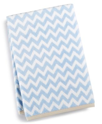 Chevron Spa Bath Towel, Created for Macy's