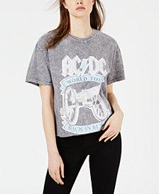True Vintage Cotton AC/DC Graphic T-Shirt
