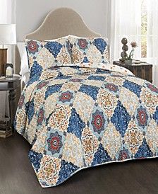 Brooke 3-Pc Set Full/Queen Quilt Set