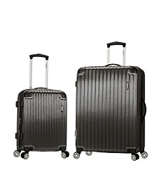 Santorini 2-Pc. Hardside Luggage Set