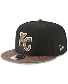 New Era Kansas City Royals Gold Snake 9FIFTY Snapback Cap