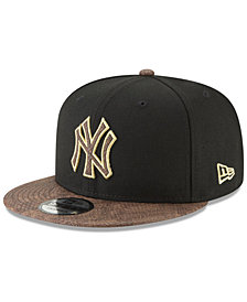 New Era New York Yankees Gold Snake 9FIFTY Snapback Cap