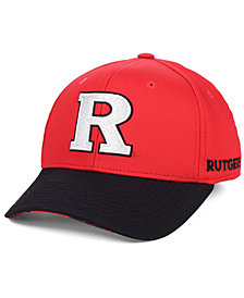 adidas Rutgers Scarlet Knights Coaches Flex Stretch Fitted Cap 2018