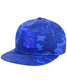 Fanatics New York Rangers Mute Camo Snapback Cap