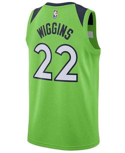 f7c5c703f Nike Andrew Wiggins Minnesota Timberwolves Statement Swingman Jersey ...
