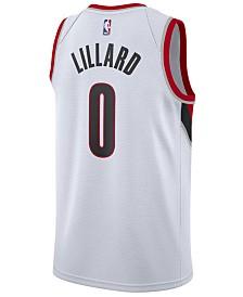 Nike Damian Lillard Portland Trail Blazers Association Swingman Jersey, Big Boys (8-20)