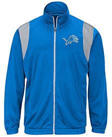 G-III Sports Men's Detroit Lions Clutch Time Track Jacket