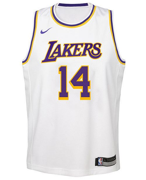 new style 5b21c 14249 Brandon Ingram Los Angeles Lakers Association Swingman Jersey, Big Boys  (8-20)