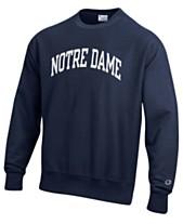 f0147a2252c Champion Men's Notre Dame Fighting Irish Reverse Weave Crew Sweatshirt