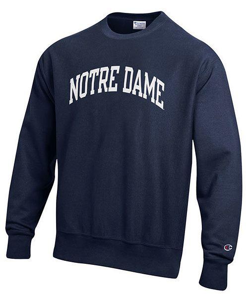 Champion Men's Notre Dame Fighting Irish Reverse Weave Crew Sweatshirt