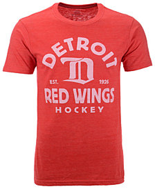 Authentic NHL Apparel Men's Detroit Red Wings Vintage Arch Tri-Blend T-Shirt