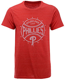 Majestic Men's Philadelphia Phillies Two Seam Tri-Blend T-Shirt