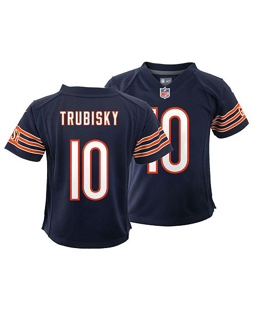 huge selection of 5e7a0 c1276 Mitchell Trubisky Chicago Bears Game Jersey, Toddler Boys (2T-4T)