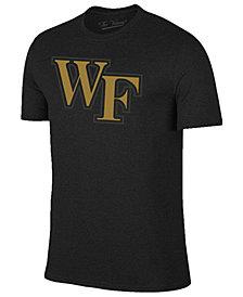 Champion Men's Wake Forest Demon Deacons Black Out Dual Blend T-Shirt