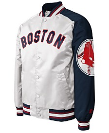 G-III Sports Men's Boston Red Sox Dugout Starter Satin Jacket II