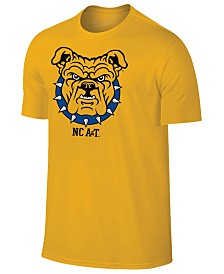 New Agenda Men's North Carolina A&T Aggies Big Logo T-Shirt