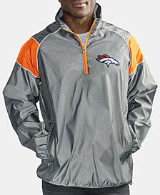 G-III Sports Men's Denver Broncos Fade Player Lightweight Pullover Jacket