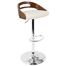 Lumisource Cassis Adjustable Barstool with Swivel