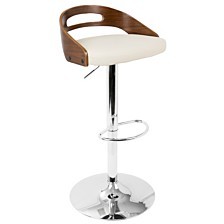 Lumisource Cassis Adjustable Barstool with Swivel