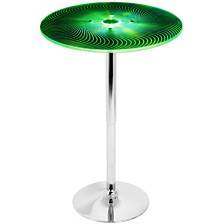 Lumisource Spyra Light Up Adjustable Bar Table