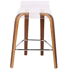 """Clarity 26"""" Counter Stool"""
