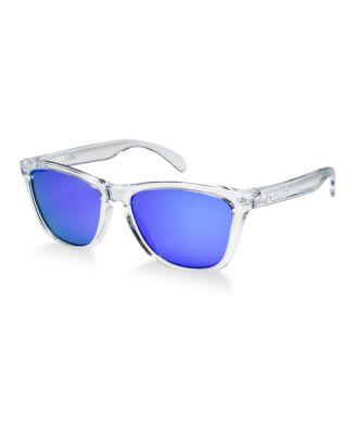 purple oakley sunglasses  Oakley FROGSKINS Sunglasses, OO9013 - Sunglasses by Sunglass Hut ...