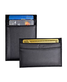 Royce Minimalist Credit Card Case Wallet in Genuine Leather