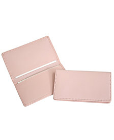 Royce Slim Business Card Case in Genuine Leather