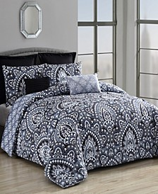 Palma 8-Pc King Comforter Set