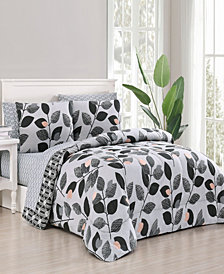 Kenna 7-Pc Queen Bed in a Bag