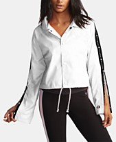 75c3143a6c0b Champion Cropped Water-Repellent Coach s Jacket