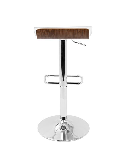 Macys Furniture Outlet Michigan: Lumisource 2Tier Barstool With Swivel & Reviews