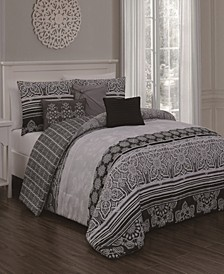 Ellisa 7-Pc King Comforter Set