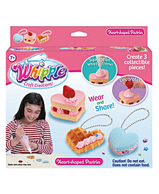 Whipple Heart Shaped Pastries