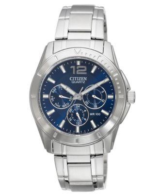 citizen s chronograph stainless steel bracelet