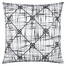 """20"""" x 20"""" Geometric Textured Abstract Design Pillow Cover"""