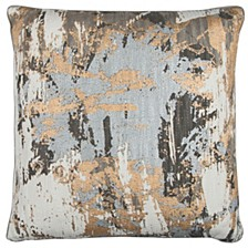 "Donny Osmond 20"" x 20"" Abstract Design Pillow Cover"
