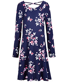Epic Threads Big Girls Floral-Print Dress, Created for Macy's